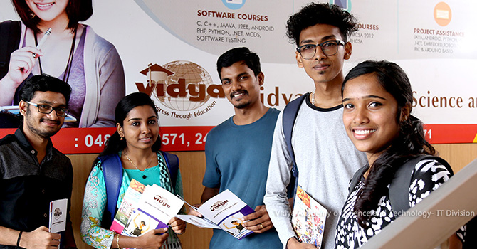 Vidya Academy of Science and Technology IT – Division Thrissur